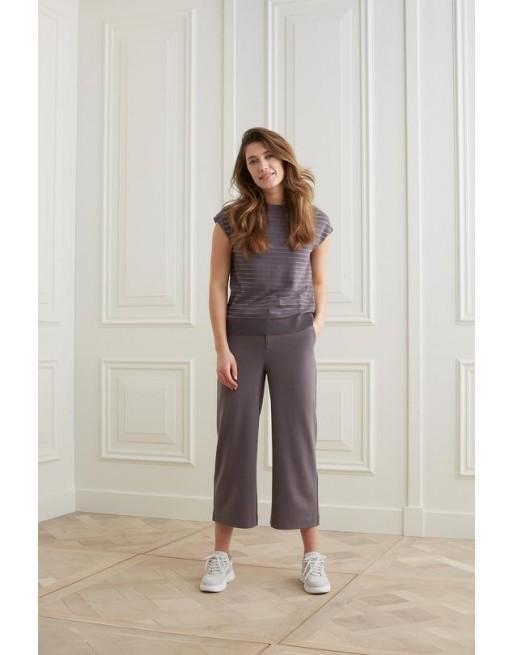 Culotte broek met hoge taille