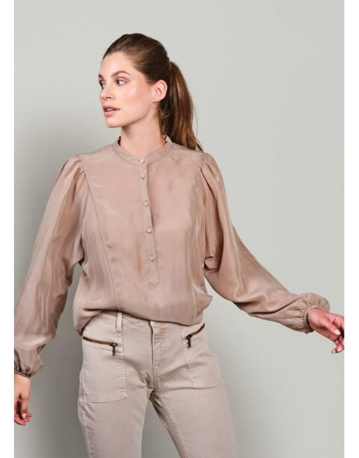 Soepel vallende blouse van...