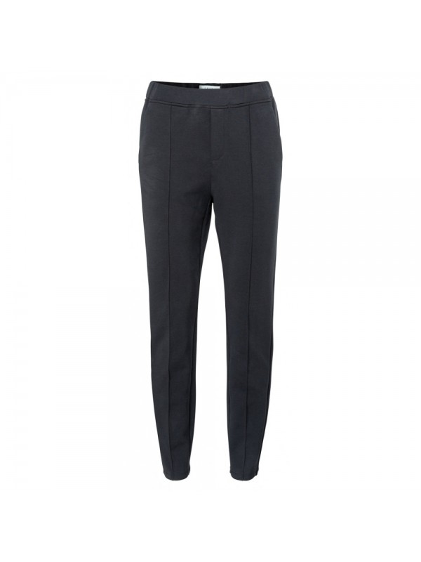 Jersey tailored trousers in...
