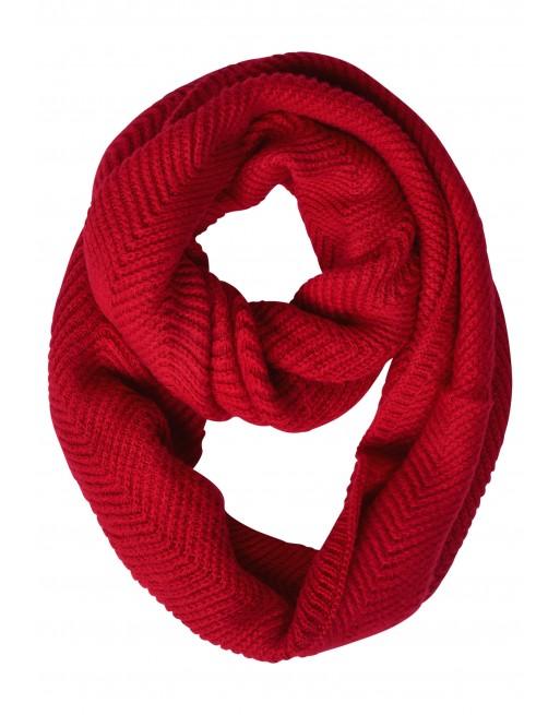 Zig Zag Structured Knit Loop