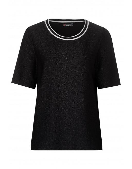 shiny interlock shirt
