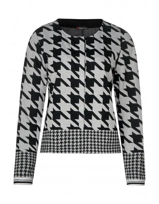 jacket w.dessin mix