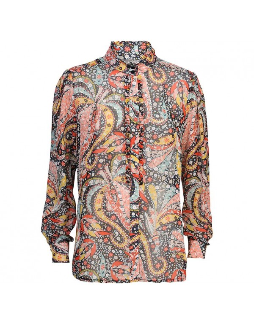 blouse flower paisley