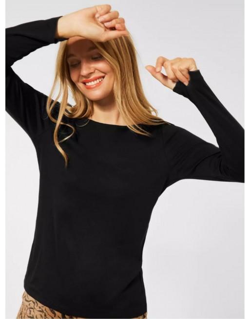 Shirt in effen kleur (Lanea)