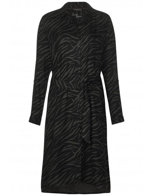 Printed Midi Dress L110