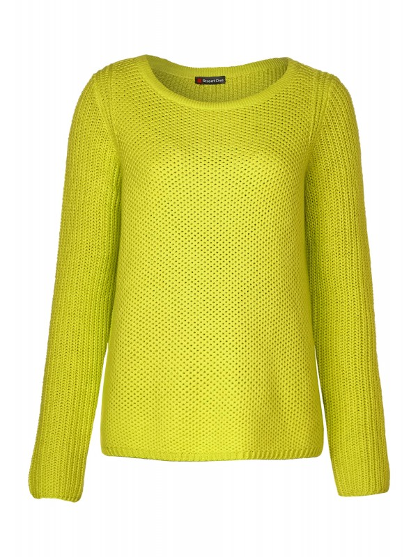 waffle structure, heavy knit