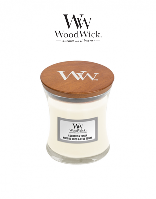 WoodWick 'Coconut & Tonka'...