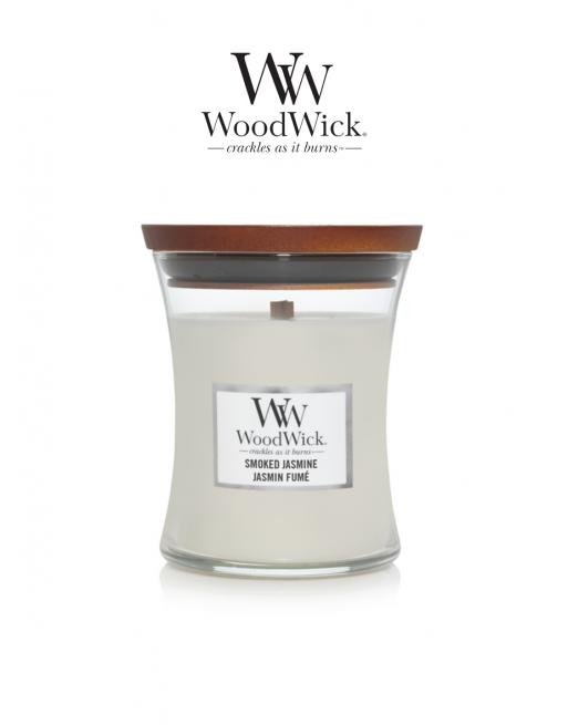WoodWick 'Smoked Jasmine'...