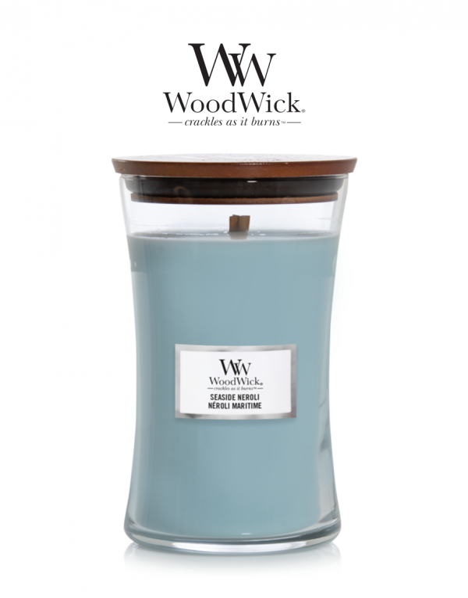 WoodWick 'Seaside Neroli'...