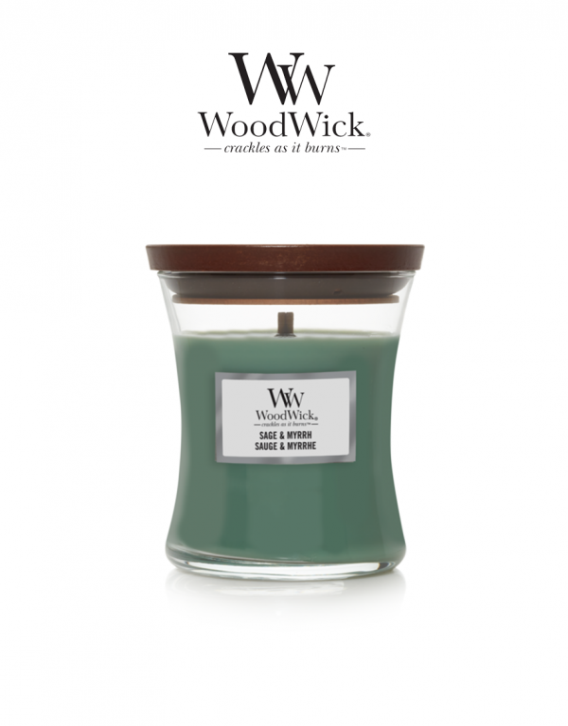 WoodWick 'Sage & Myrrh' Medium