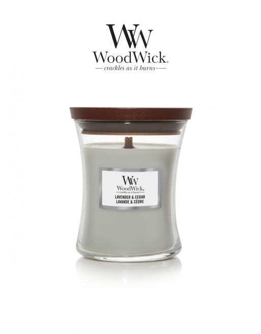WoodWick 'Lavender & Cedar'...