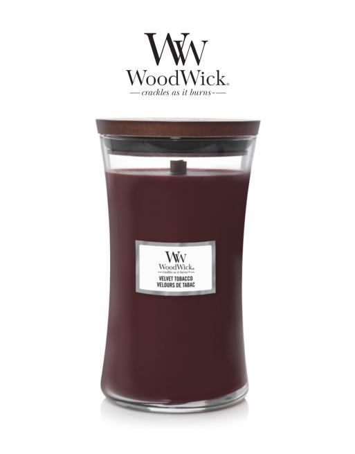 WoodWick 'Velvet Tobacco'...