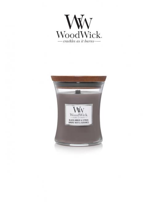WoodWick 'Black amber &...