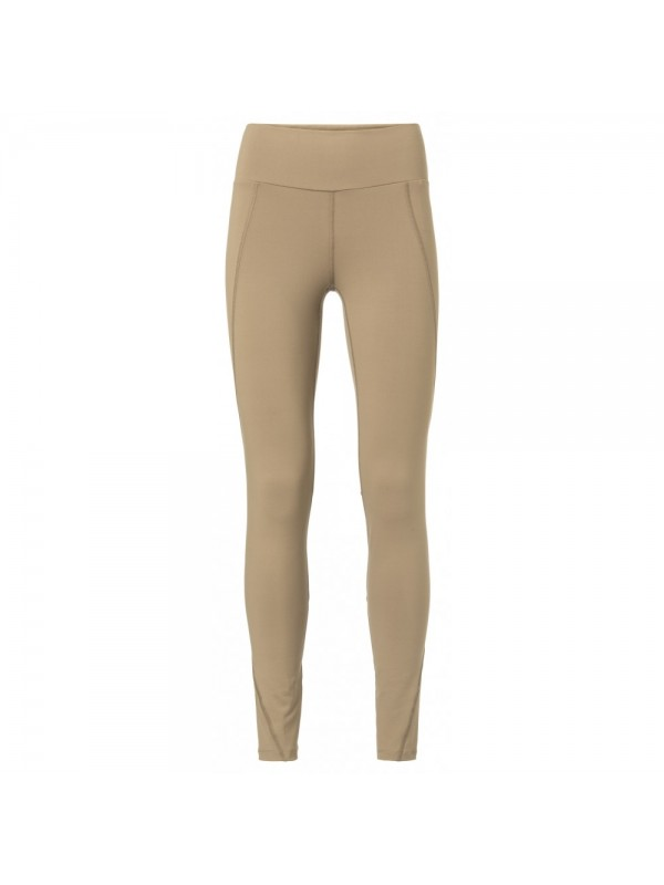 Stretch legging with seamlines