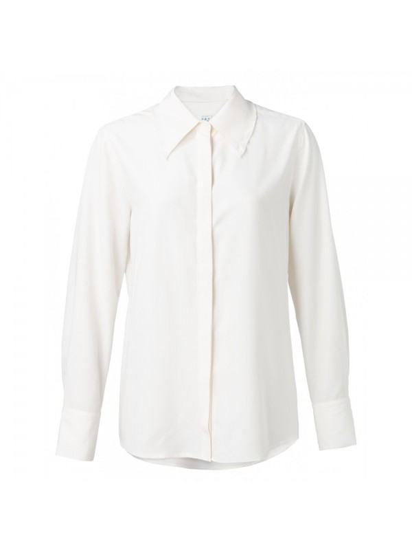 Modal shirt with ruffles on cu