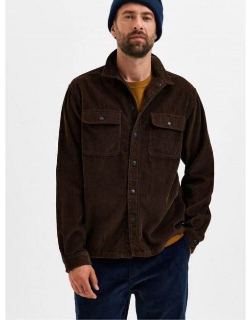 ribfluweel overshirt