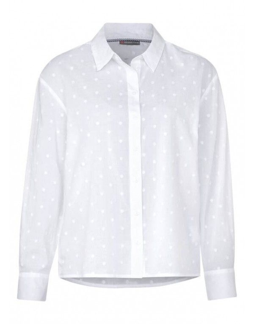 Oversized shirtcollar blouse d