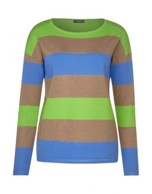 stripe, fine knit