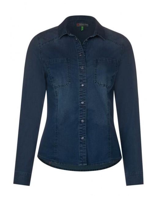 Denim-blouse basic