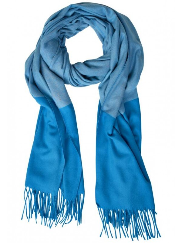 OP_Cosy Colorblock Scarf With