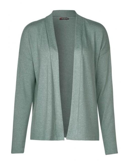 soft short t-shirt jacket