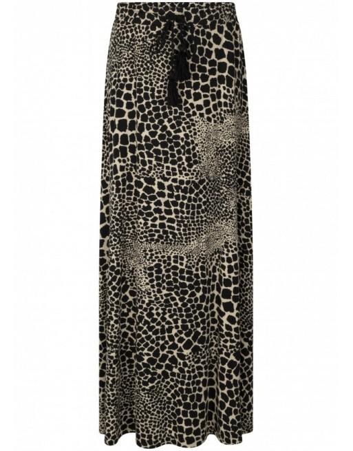 Skirt Long Giraf Print
