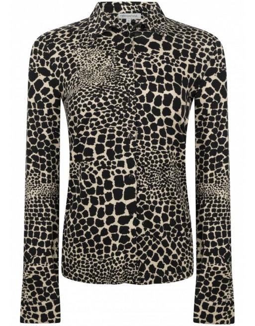 Blouse Jersey Giraf Print