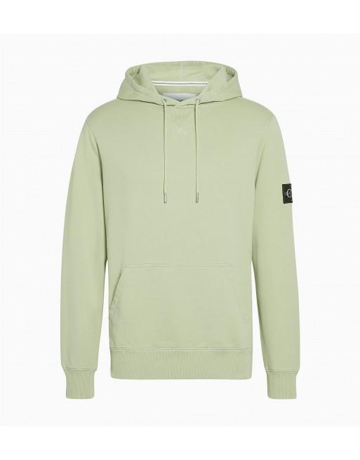sleeve badge hoodie