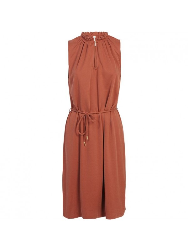 ruffle dress washed modal...