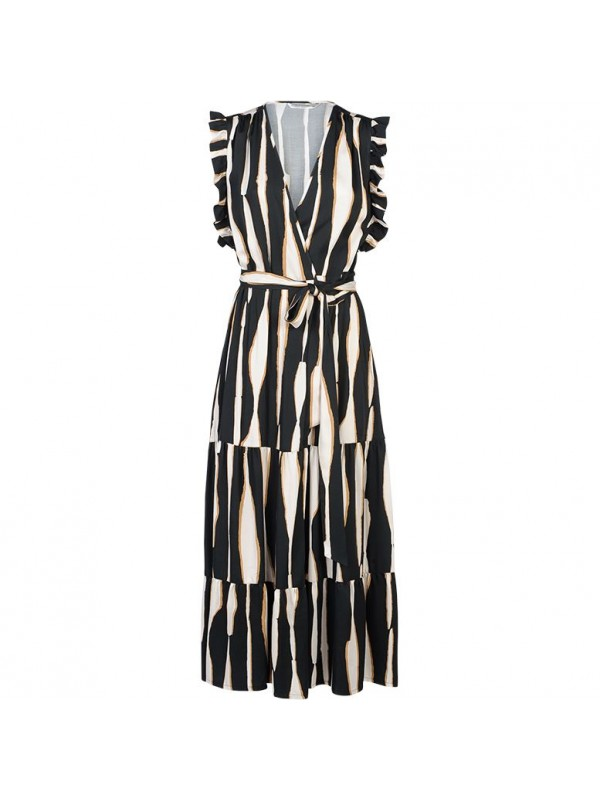 Dress irregular stripe