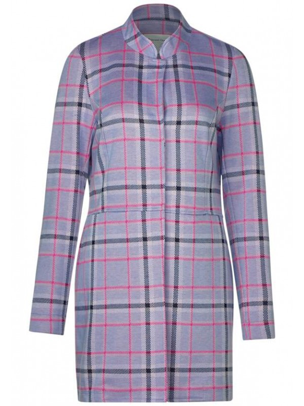 Heavy Jersey coat with Check J