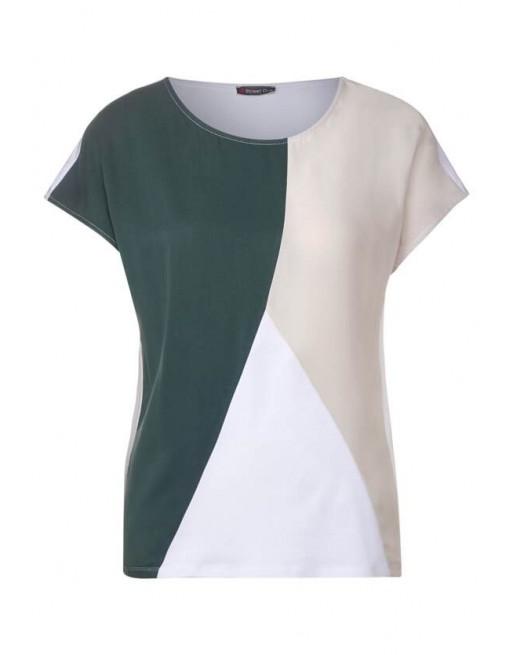 LTD QR colorblock shirt