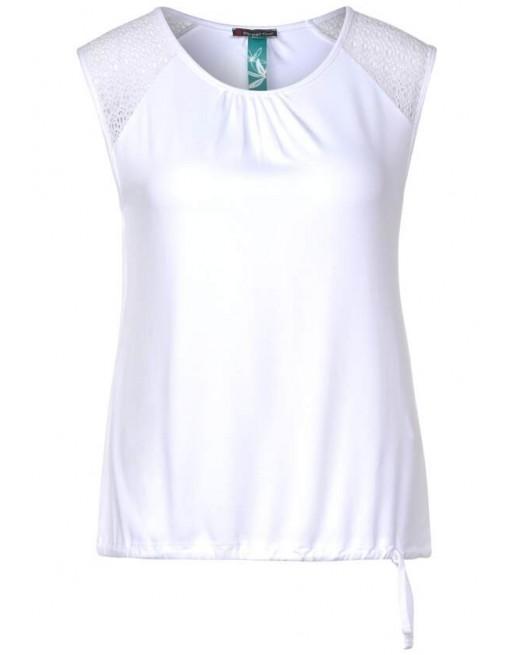 top w.lace shoulder