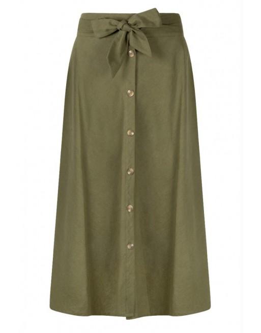 Skirt Linen Midi