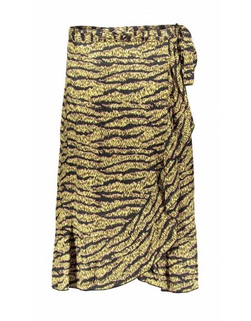 Skirt wrapp ruffle