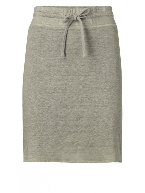 Linen skirt with lining