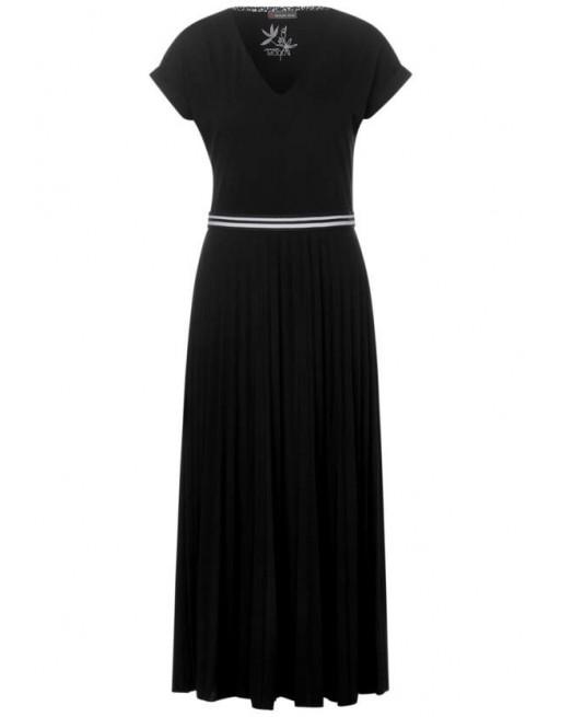 V-neck dress_Maxi_L124