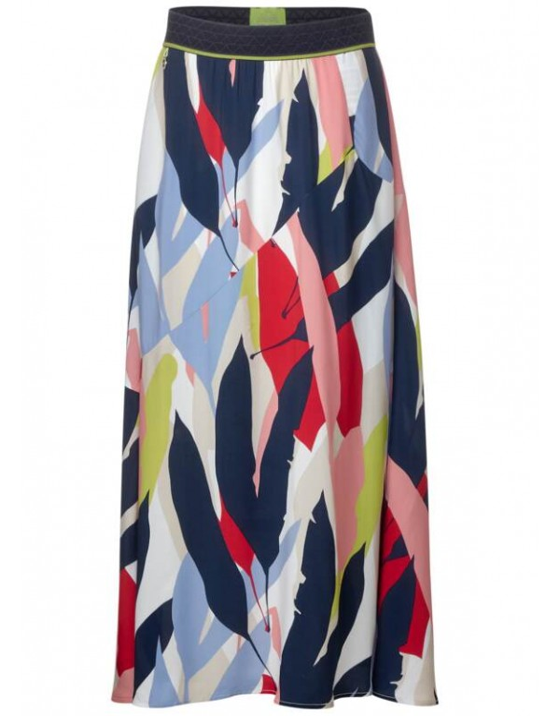 Maxi skirt printed L96