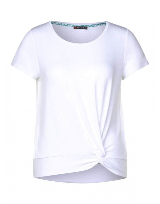 shirt w.knot detail