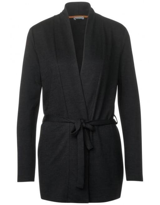 long jacket w belt