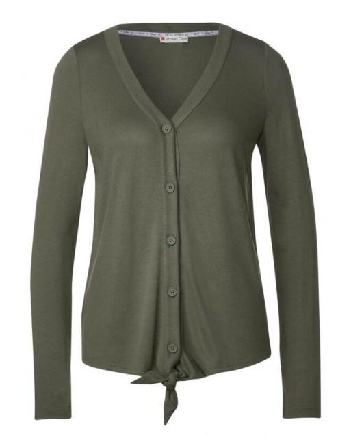 QR jacket w. knot