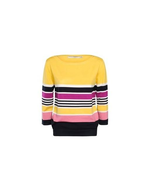 pullover bamboo stripe