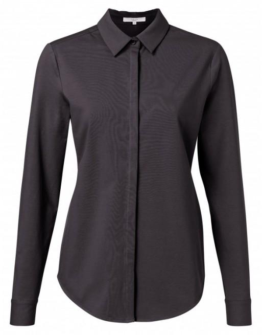 Jersey cotton blend shirt