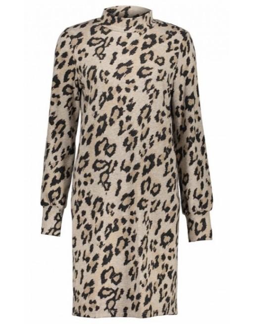Dress soft AOP leopard &...