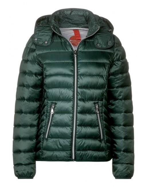 LTD QR feminine nylon jacket