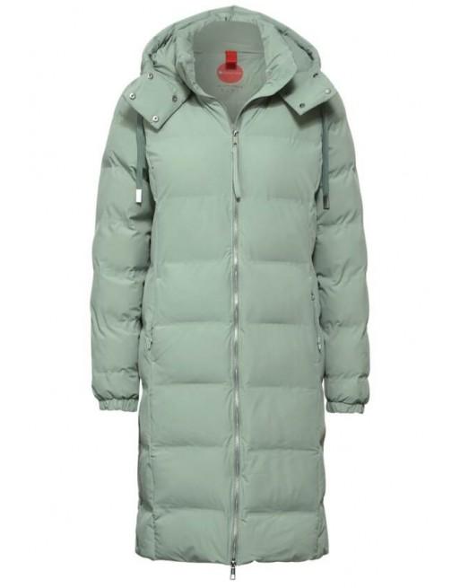 long padded modern coat