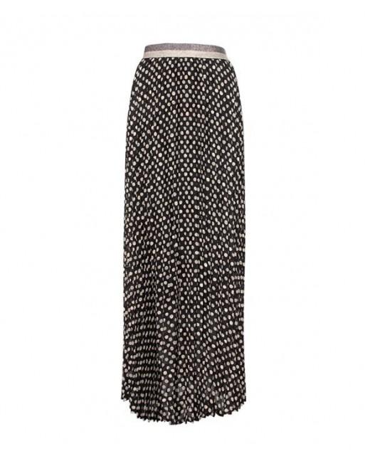 Skirt double dot plisse