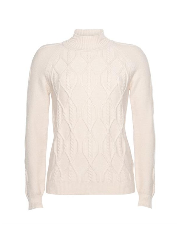 Cable sweater viscose blend...