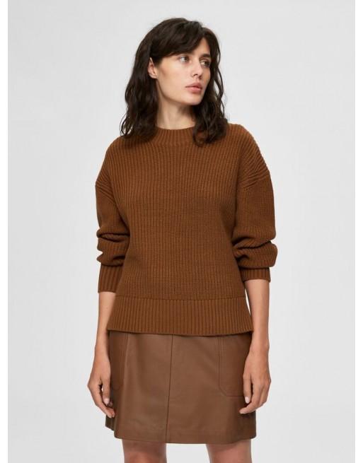 lage schouder sweater