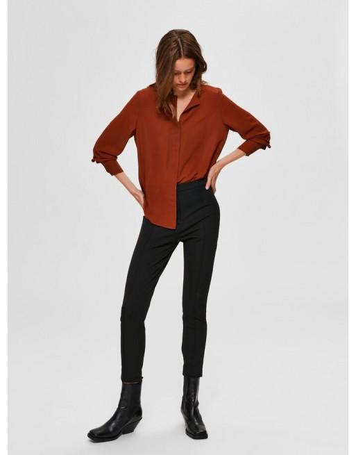 Mid-waist broek